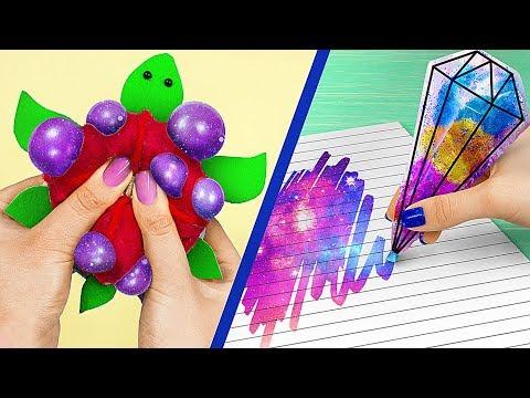 Антистресс канцелярия – 10 идей / Игрушки антистресс