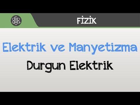 Elektrik ve Manyetizma - Durgun Elektrik