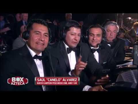 Box Azteca Team analiza el heroico triunfo de Canelo Alvarez sobre Gennady Golovkin