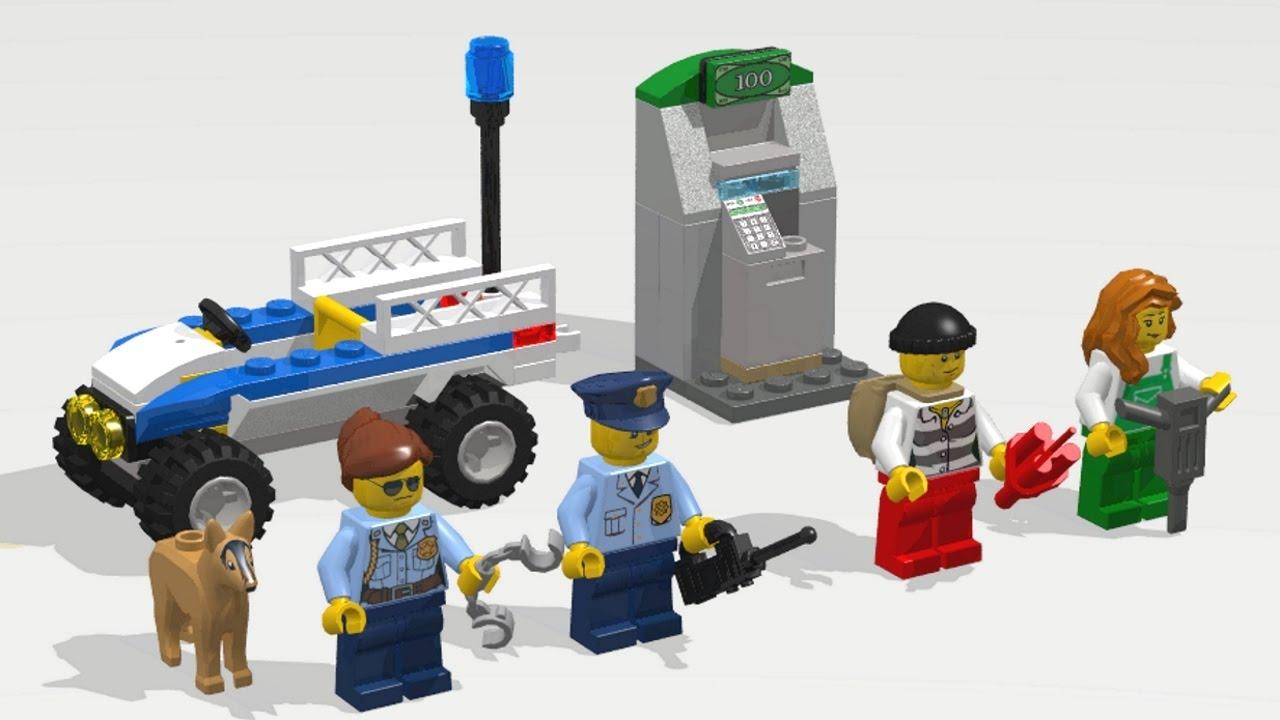 LEGO City-Friends 1 Bancomat