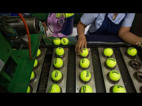 AWESOME PROCESSING LINES 2018 | EP 3 👌 The Tennis Ball