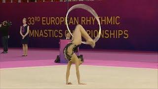 33-й чемпионат Европы по художественной гимнастике (Будапешт - 2017) – Обруч
