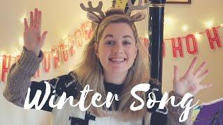 Sara Bareilles - Winter Song (Christmas Harp Cover)