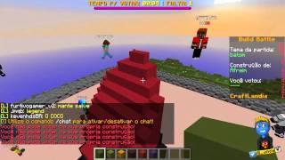 Minecraft: FUTEBOL NA PISCINA! NOVO BUILD BATTLE!
