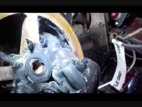 Mercruser Heat Exchanger Gasket 496ho Overheat Youtube