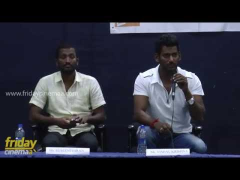 Vishal & Susendhran conducts a work shop on #mop college
