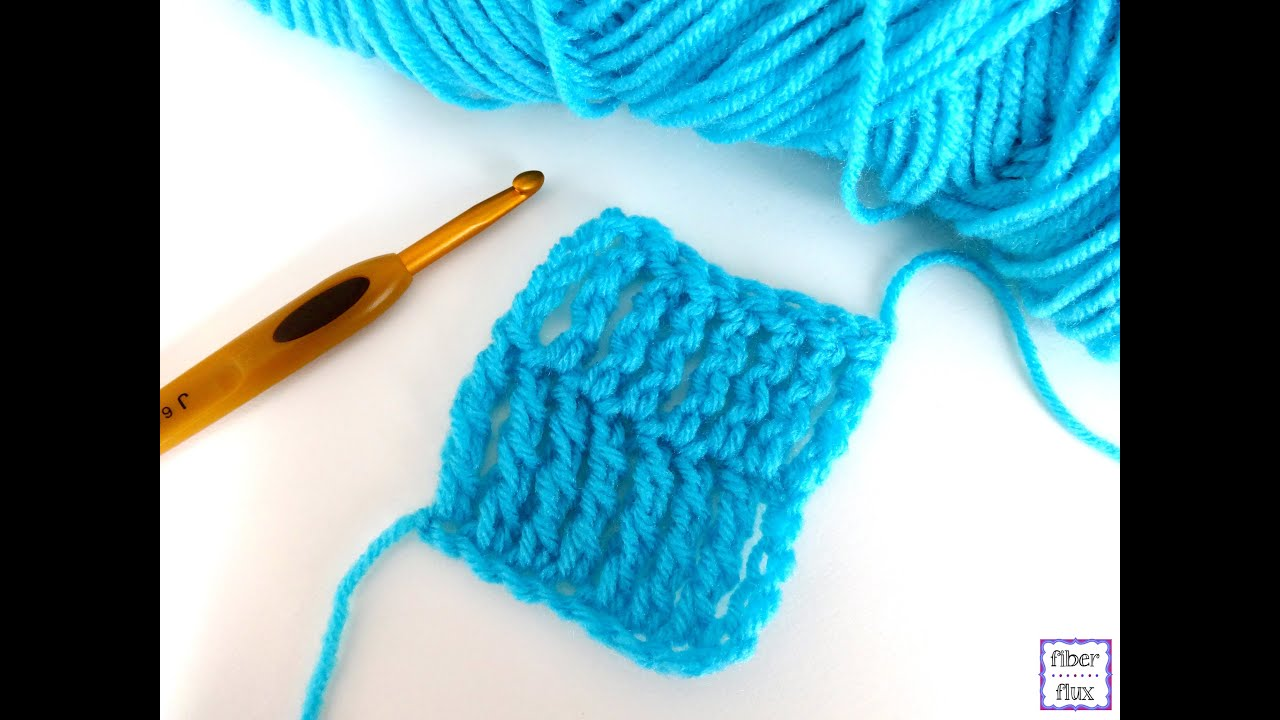 Episode 177: Double Treble Crochet Stitch (dtr) - YouTube