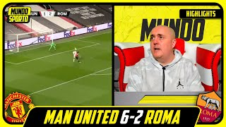 LIVERPOOL FAN REACTS TO MAN UNITED 6-2 ROMA