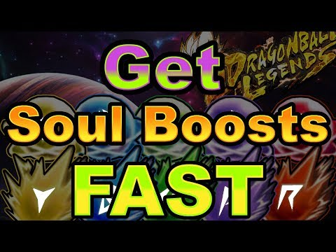 Get Soul Boosts FAST in Dragon Ball Legends!