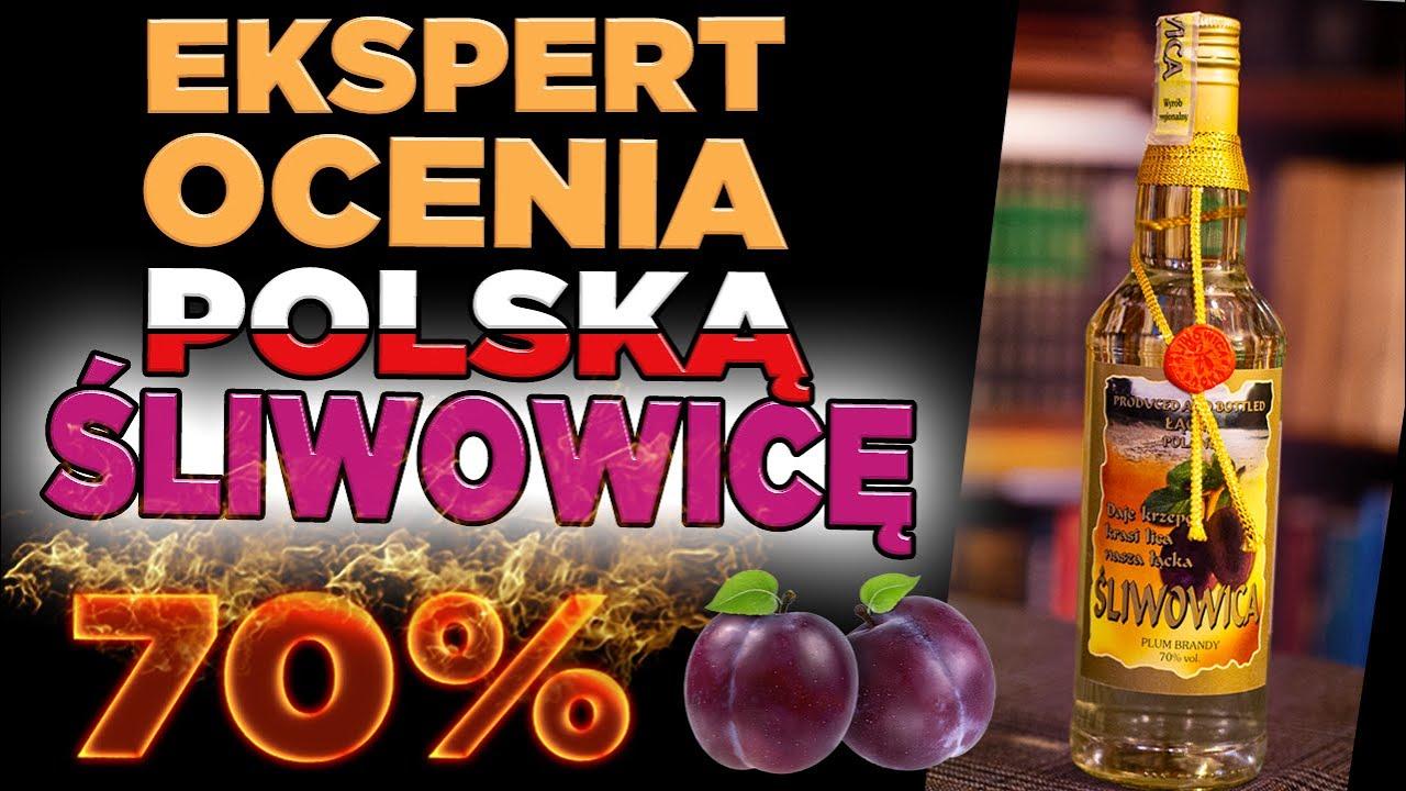 Jak smakuje Śliwowica Łącka? Czy 70% da się pić na czysto? Sławna brandy ze śliwek z południa Polski