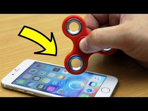 EXPERIMENT iPhone vs FIDGET SPINNER (48,069 RPM)