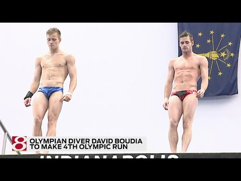 David Boudia to make run at 4th Olympics