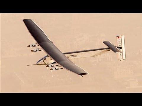 Solar Plane Set to Embark on Toughest Journey Yet