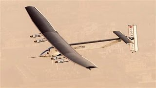 Solar Plane Set to Embark on Toughest Journey Yet