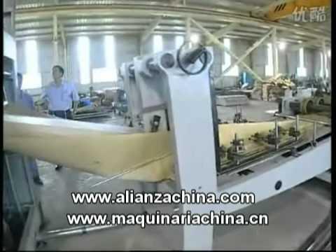 Maquina para fabricar bolsas de papel para cemento  YouTube