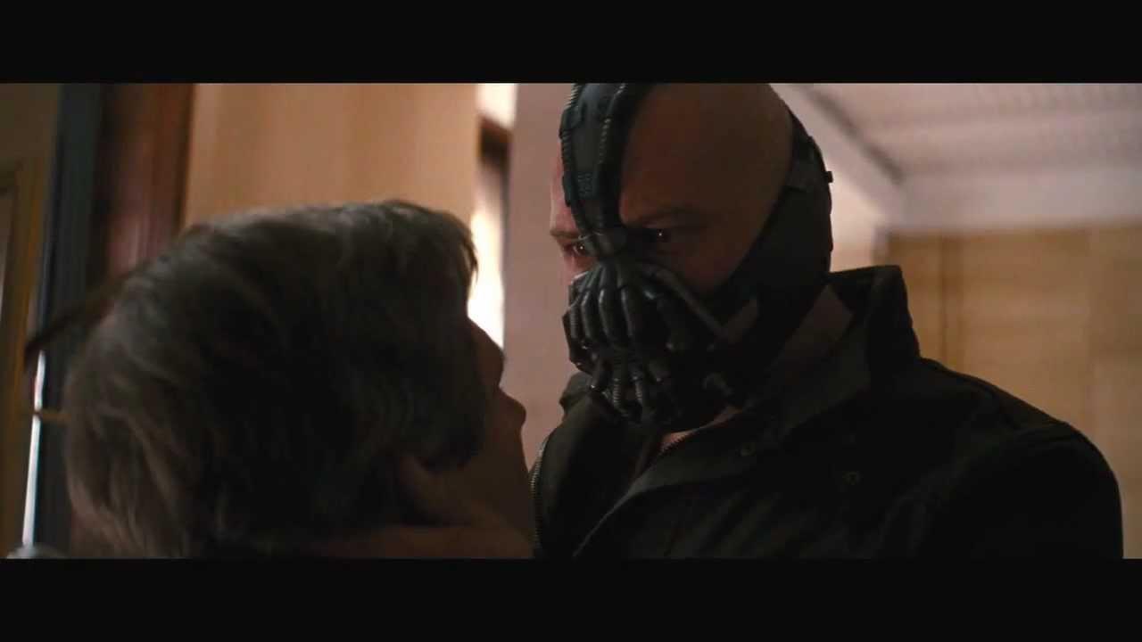 The Dark Knight Rises - Daggett's Final Moments - YouTube