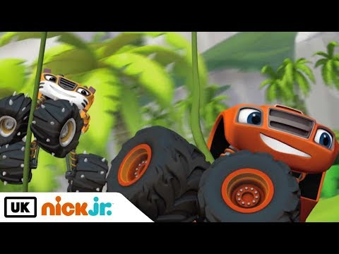 Blaze and the Monster Machines | Sing Along: Let's Go Song | Nick Jr. UK