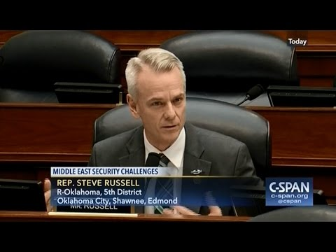 Rep. Russell Discusses Security in the Middle East