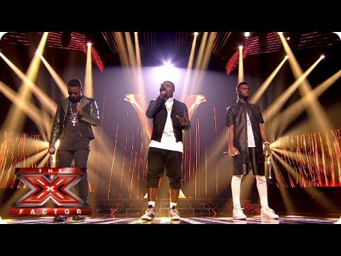 Rough Copy sing End Of The Road  Boys 2 Men   Week 9  The X Factor 2013