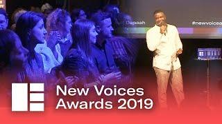 New Voices Awards 2019 Highlights (Hosted by Michael Dapaah)   Edinburgh TV Festival