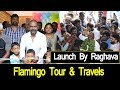 Actor Raghava Lawrence Inaugurated Flamingo Tour & Travels | Chennai Express Tv