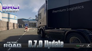 ON THE ROAD - Truck Simulator | Update 0.7.0 PC Gameplay