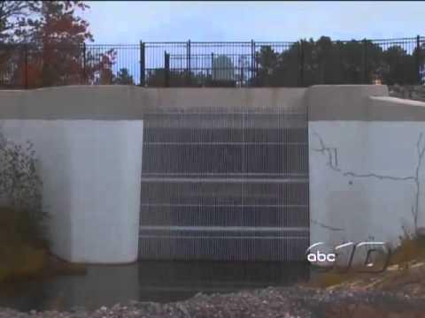 Tourist Park Dam Rebuilt