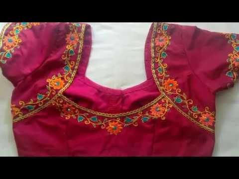 Simple Blouse Embroidery Designs Simple Blouse Design Saree