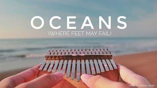 Oceans (where feet may fail) - Full Kalimba Cover