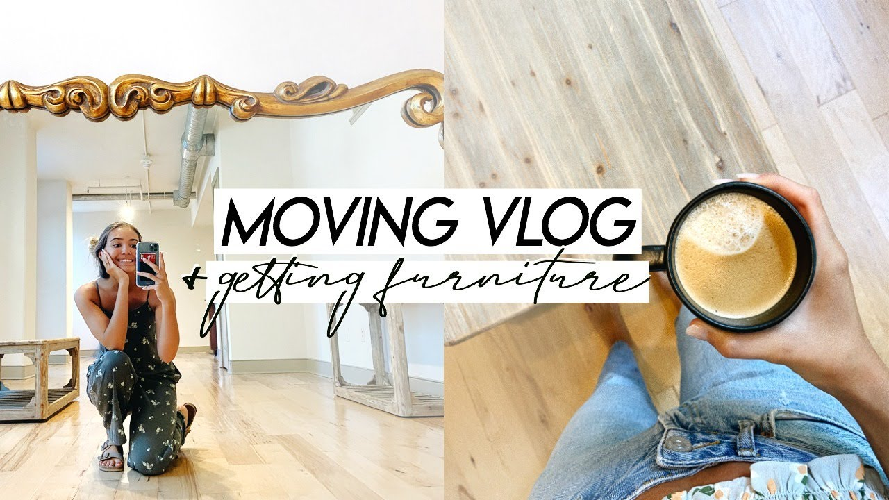 MOVING VLOG! Weekend in My Life, Building Furniture, and Unloading Registry Gifts!
