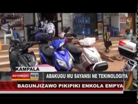 ELECTRIC MOTOR BIKES IN UGANDA-JAMIL FILMAKER