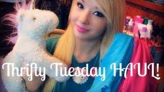 Thrifty Tuesday HAUL!