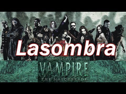 Vampire the Masquerade | VtM Clans and Bloodlines | Lasombra