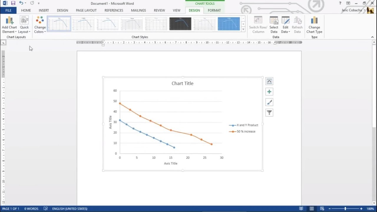 How To Make A Ppf With A Percentage Increase In Ms Word