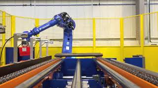 EOL Grinding Robot - Excavator Trackshoes