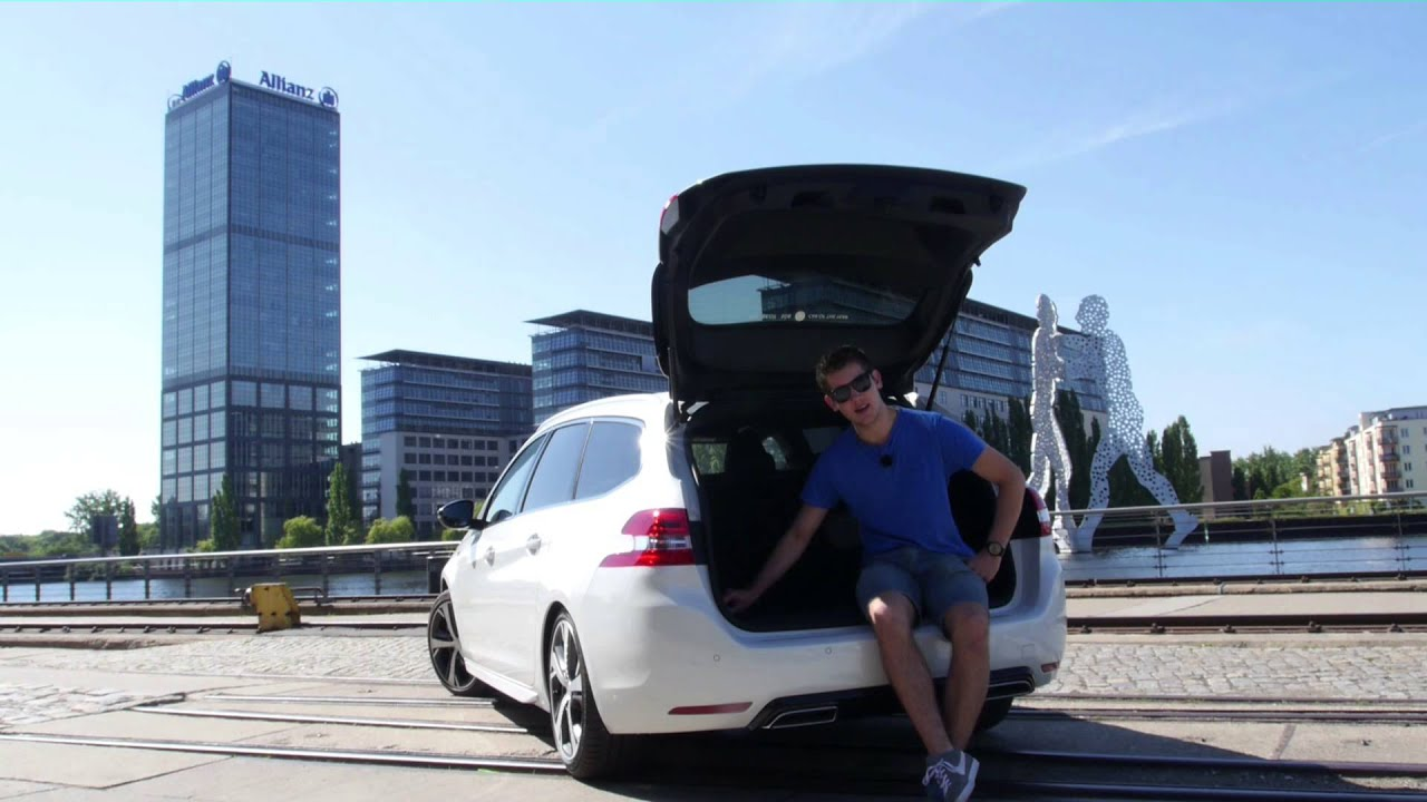 Peugeot 308 sw kofferraumvolumen