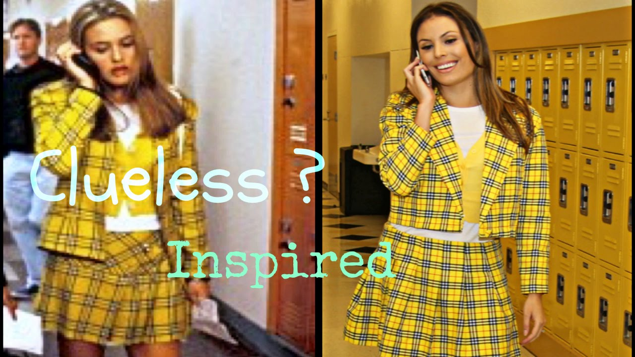 sc 1 st  YouTube & Clip #7 Clueless Cher Horowitzu0027s Yellow Plaid Skirt Suit - YouTube