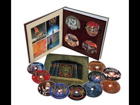 Saxon 14 disc box set The Solid Book Of Rock - Jag Panzer new album The Deviant Chord