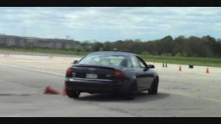 2000 Audi A6 2.7T modified SCCA autoX test & tune