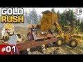 GOLD RUSH : THE GAME : VOU FICAR RICO COM OUROS APRESENTANDO O JOGO