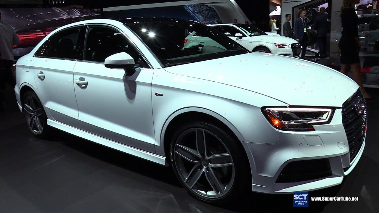 2018 Audi A3 Quattro Exterior And Interior Walkaround 2017 La