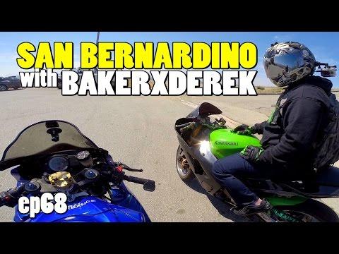 San Bernardino with BakerXderek - Southern California Motovlog