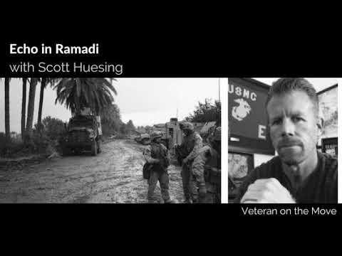 Echo in Ramada with Marine Veteran Scott Huesing