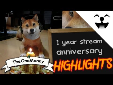 Stream Highlights #21 - ( 1 YEAR ANNIVERSARY, BEST MOMENTS)