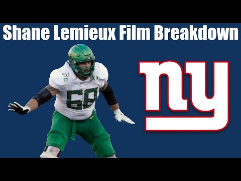 Breaking down and analyzing New York Giants 5th round pick Shane Lemieux