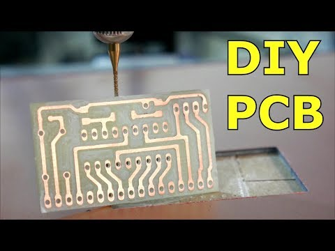 Simple DIY PCB with a 3D Printer
