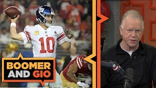 Eli comes through in the clutch | Boomer and Gio