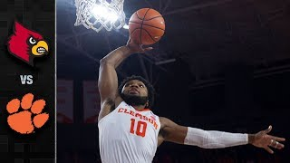 Louisville vs Clemson Basketball Highlights (2017-18)