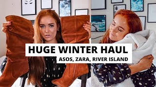 Winter Try On Haul   Asos, Zara, River Island And More