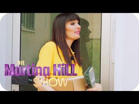 Larissa testet Berufe: Paketbote | Die Martina Hill Show | SAT.1 TV